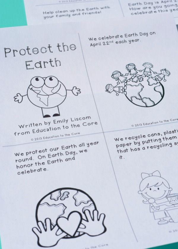 Earth Day FREEBIE Mini-Book!