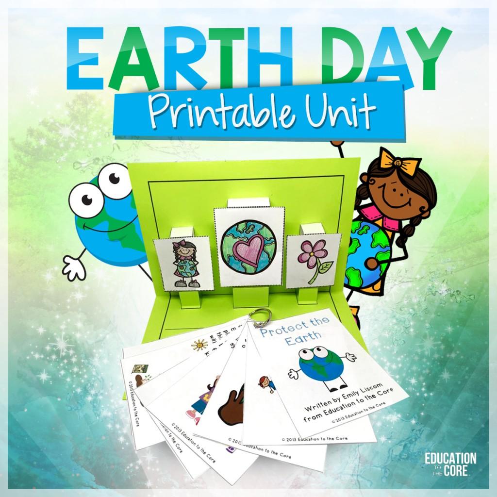 Earth Day Printable Unit