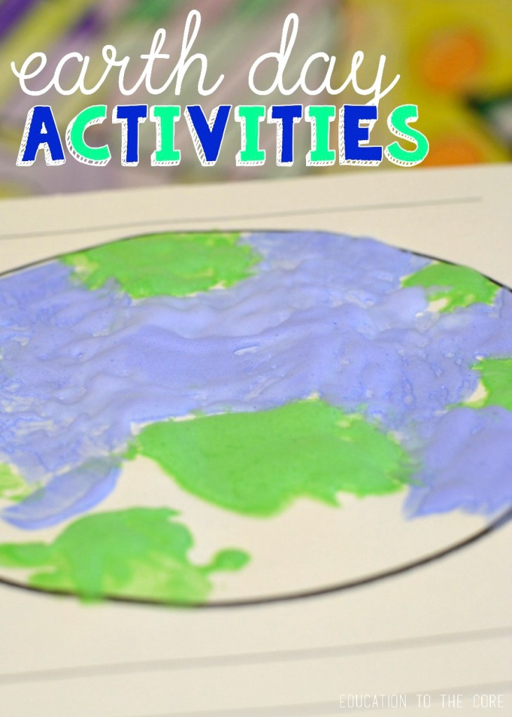 Earth Day Printables and Craftivity