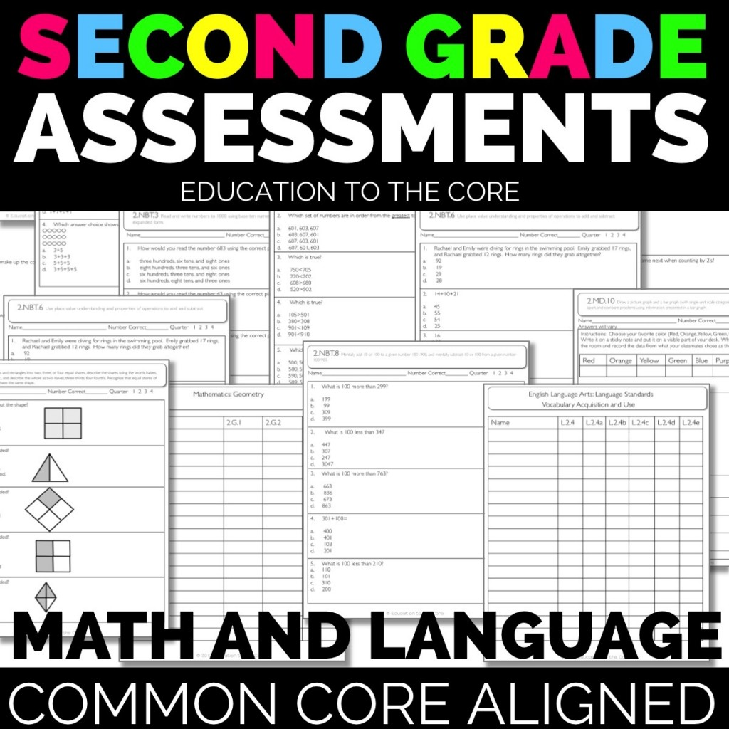 Second Grade Assessments