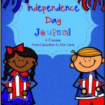 Free Independence Day/4th of July Journal