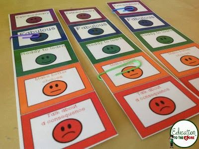 Positive Behavior Desk Plates