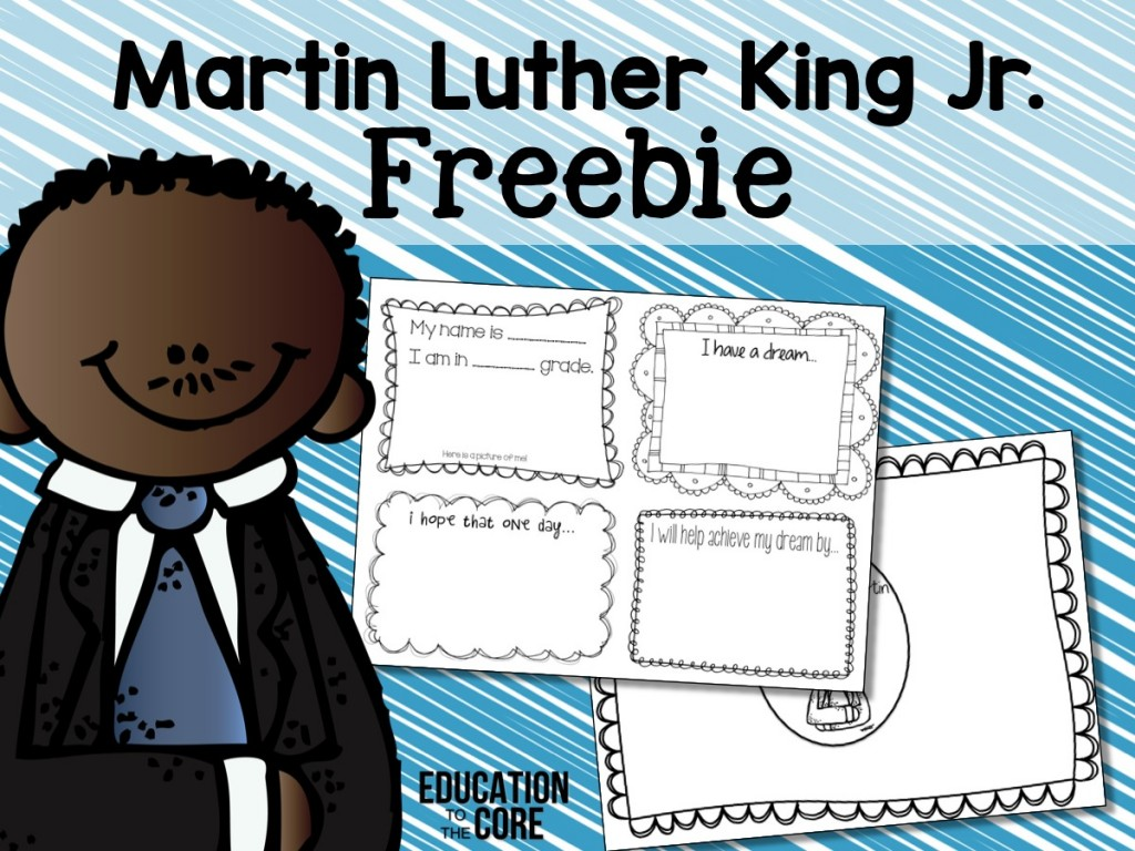 Martin Luther King Jr. Freebie