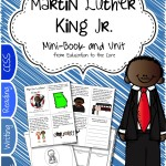 Martin Luther King Mini-Book and Unit and FREEBIE!