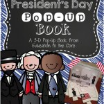 President's Day Pop-Up Books and Freebie!