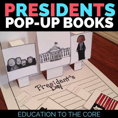 President's Day Mini Books and Unit