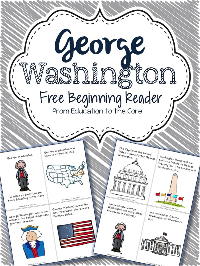 George Washington Freebie Reader!