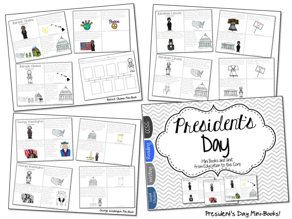 President's Day Close Read and Activities