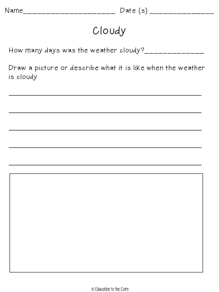 Weather Activities and a Special FREEBIE!