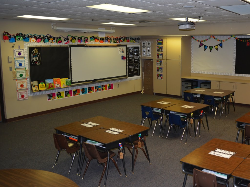 Classroom Decor Black ~ Black and white with pops of color education to the core