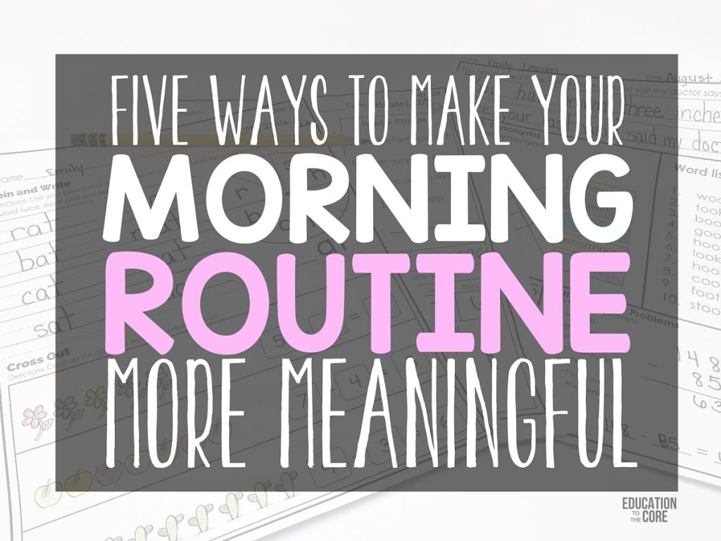 5 Ways to Make Your Morning Routine More Meaningful