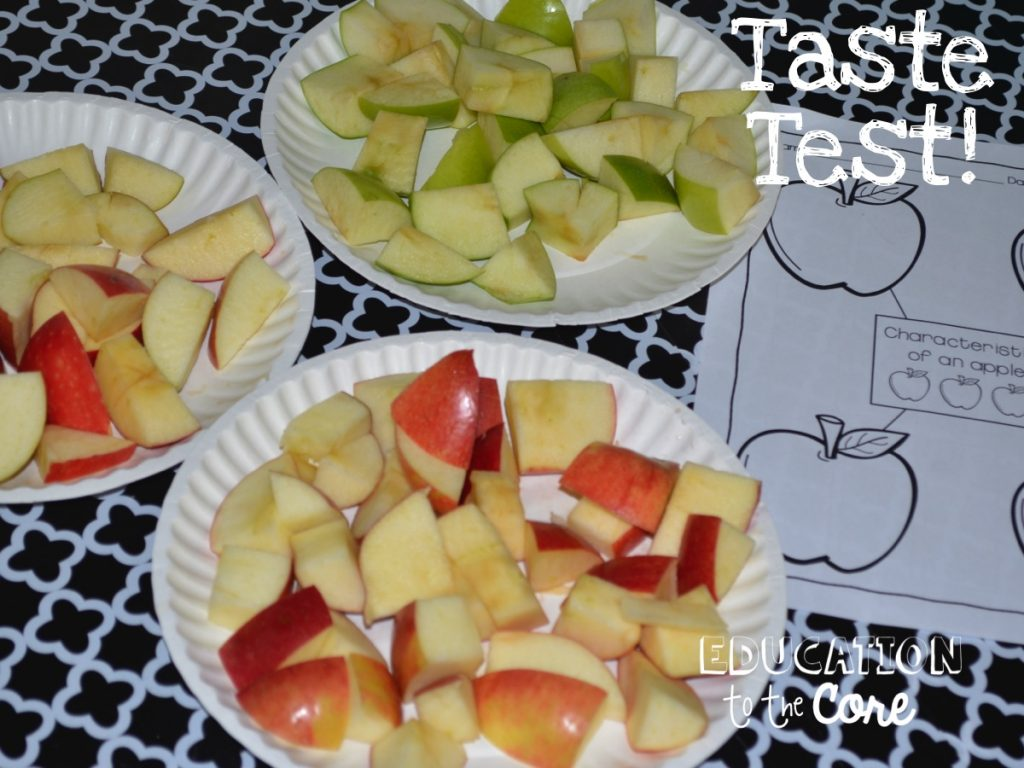 Taste Test for Apple Life Cycle