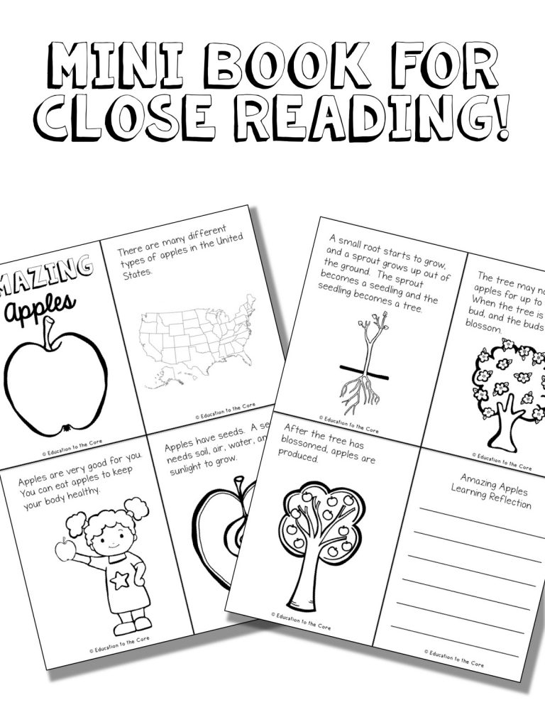 Apple Mini Book for Close Reading