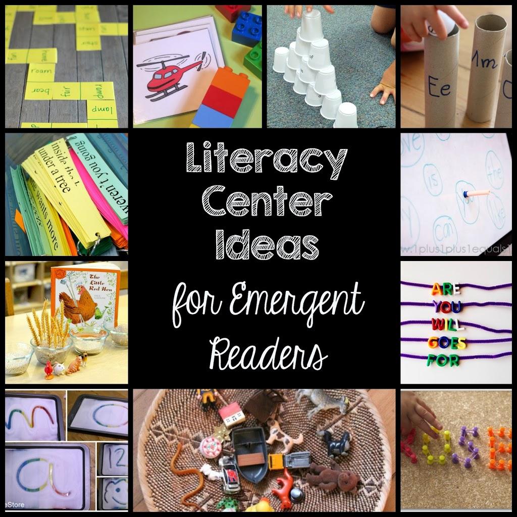 ten literacy ideas for emergent readers