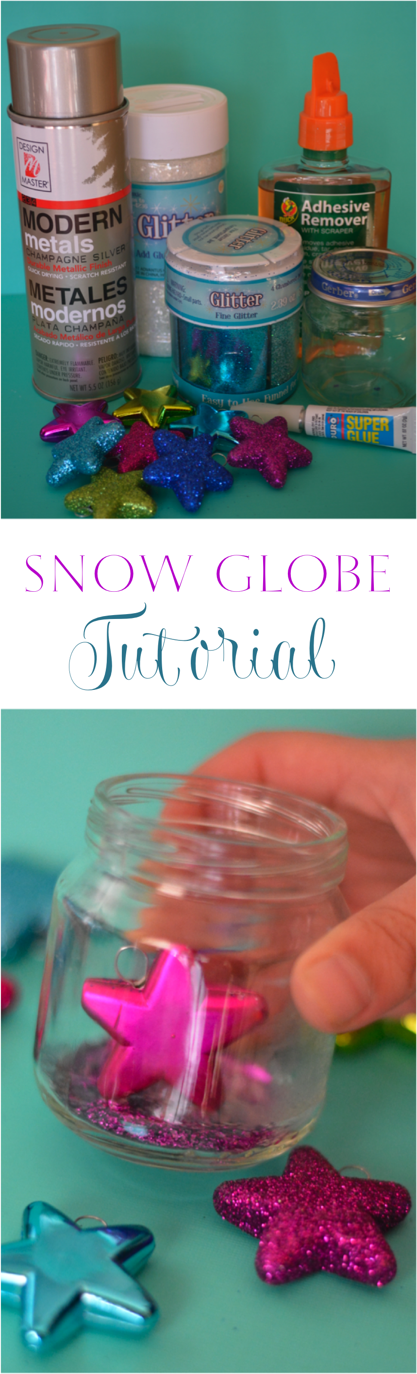 Snow Globe Tutorial for Kids