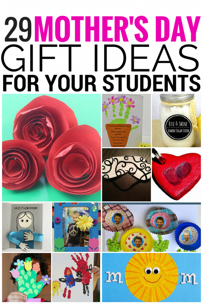 29 Mother's Day Gifts for Your Students