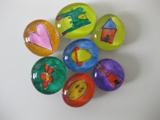 Bead Magnets from Tangled with Teaching