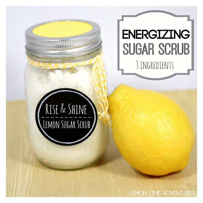 Lemon Sugar Scrub from Lemon Lime Adventures