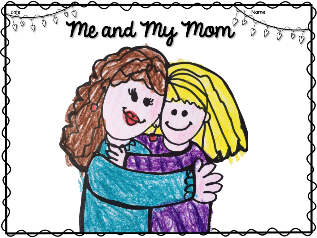 Mother's Day Directed Drawing from Whimsy Workshop