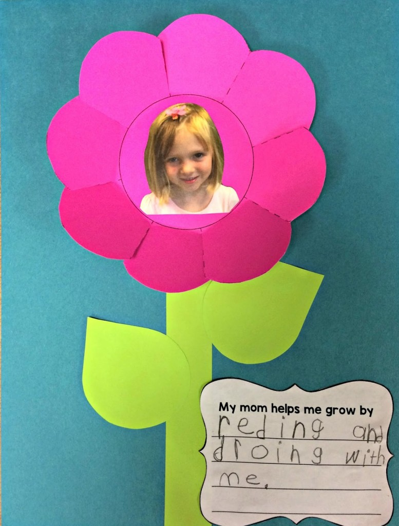 Mother's Day Flower Craftivity from The Primary Pack