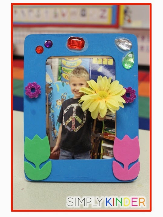 Mother's Day Frame from Simply Kinder