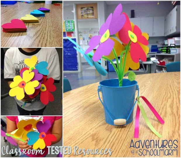 Paper Bouquet from Classroom Tested Resources