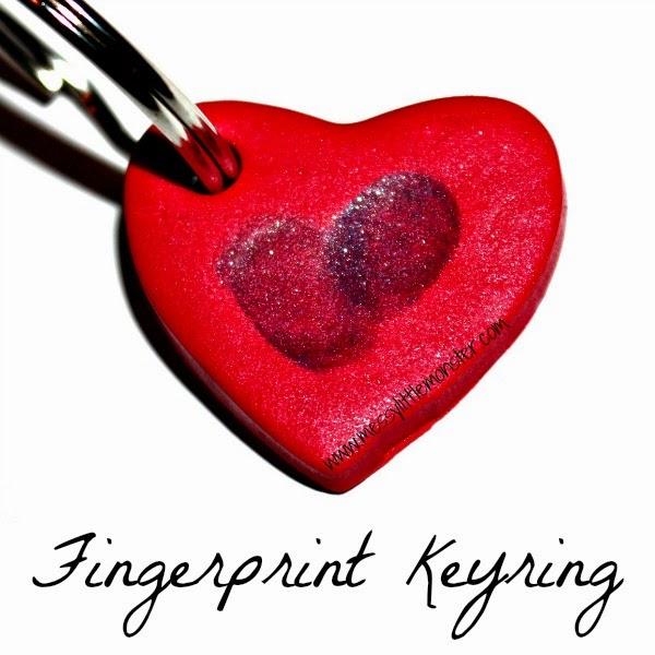 Fingerprint Keyring from Messy Little Monster