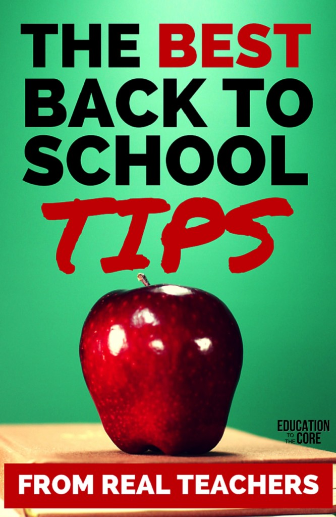 Best Back to School Tips from Real Teachers