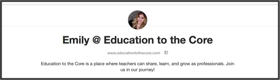 Emily from Education to the Core