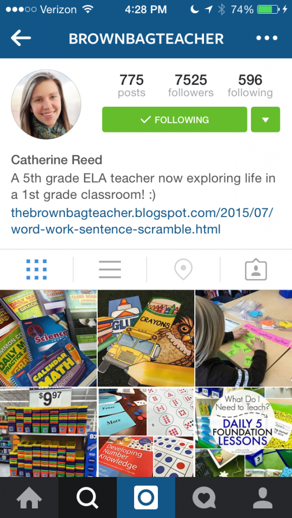 Catherine from Brown Bag Teacher