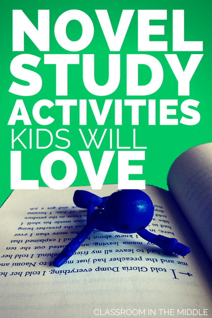 Novel Study Activities Kids Will Love