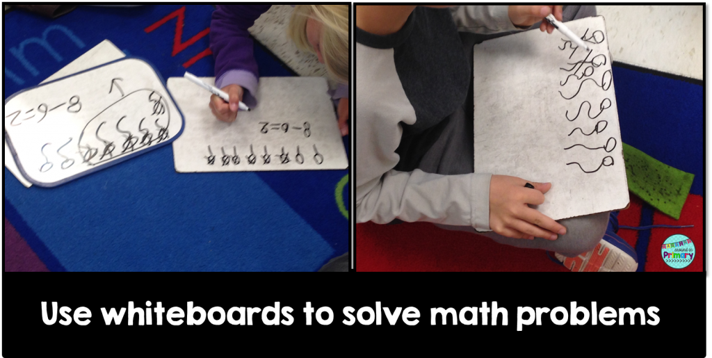 Use Whiteboards to Solve Math Problems