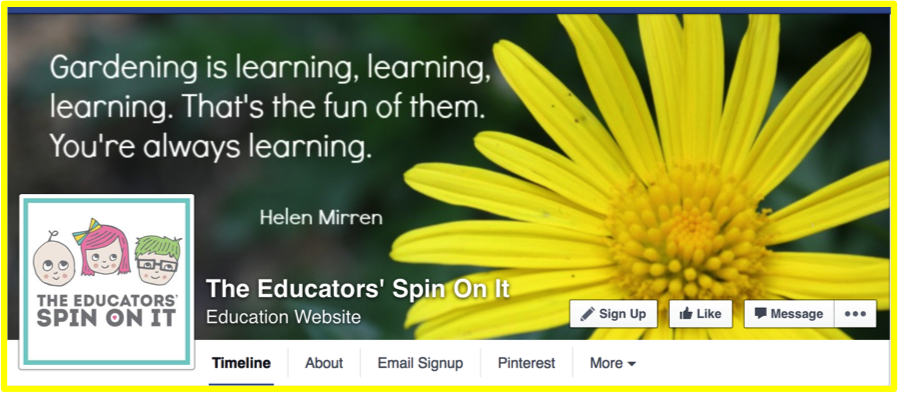 The Educators Spin On It