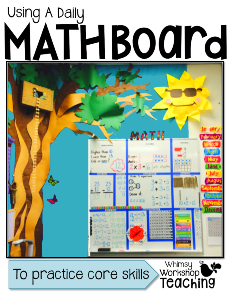 Using Daily Math Boards in Your Classroom