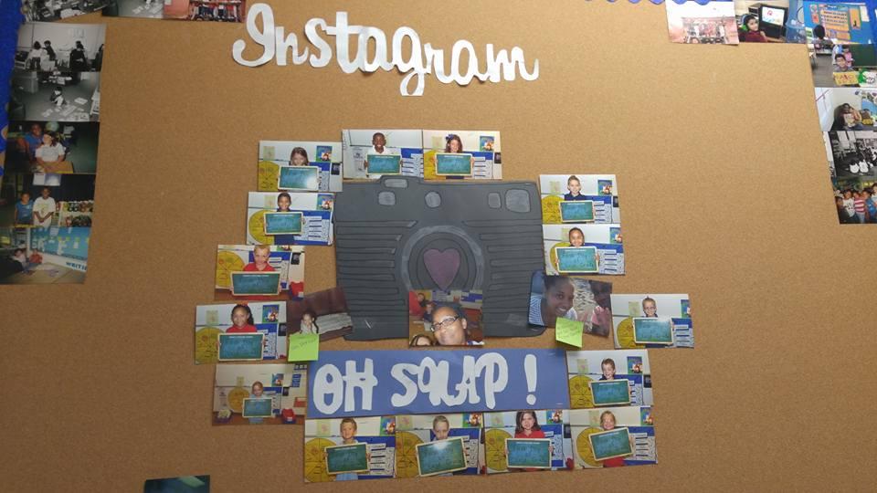 Instagram Bulletin Board by Nicole V.