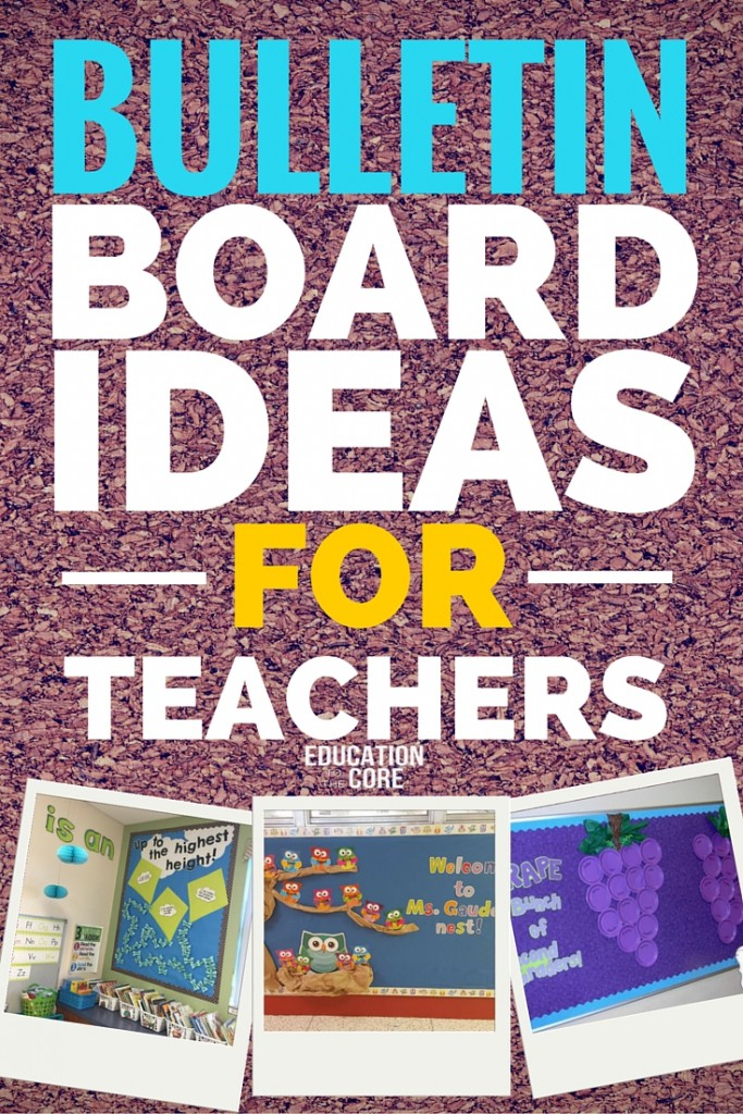 Bulletin Board Ideas for Teachers