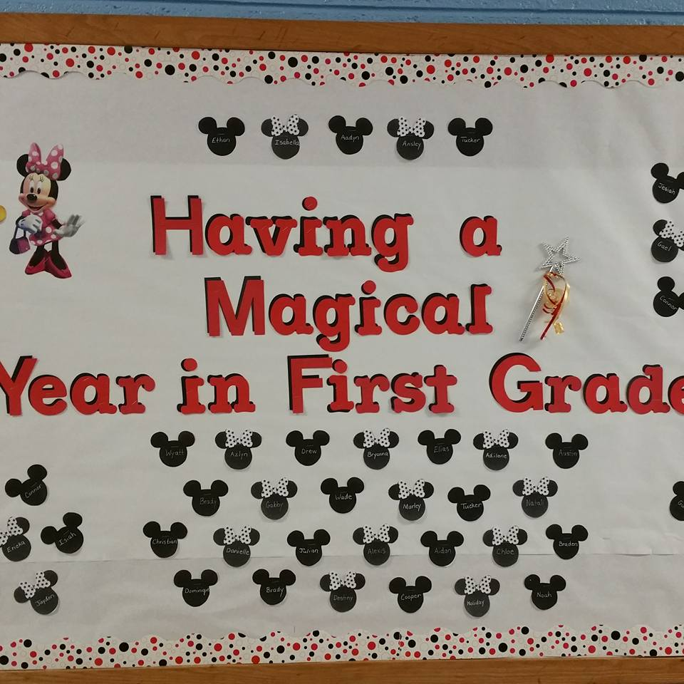 Having a Magical Year in First Grade by Lori R.
