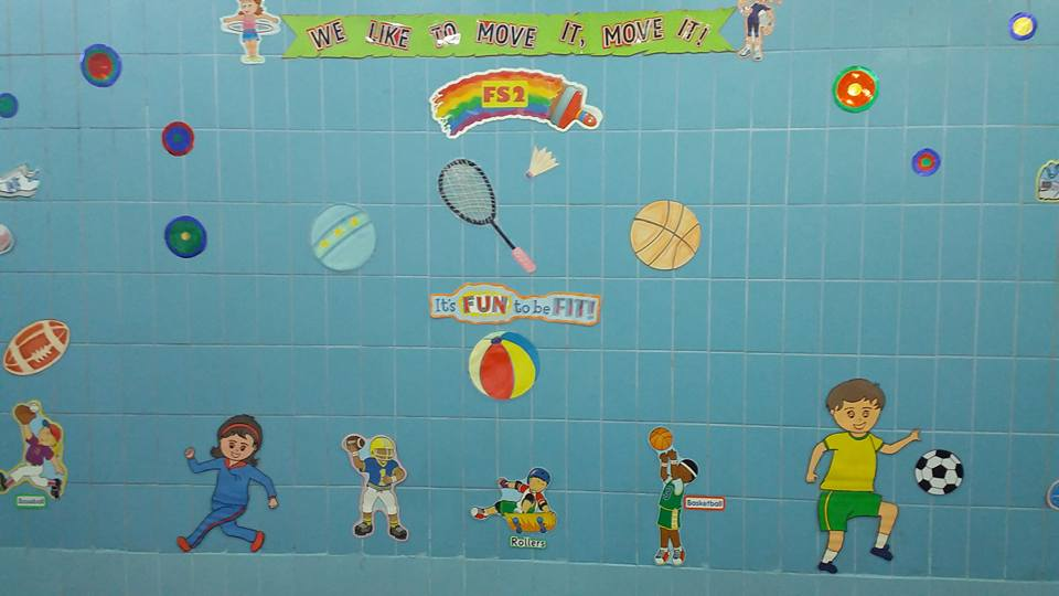I Like to Move It Move It Bulletin Board for Gym Teachers by Reymma G.