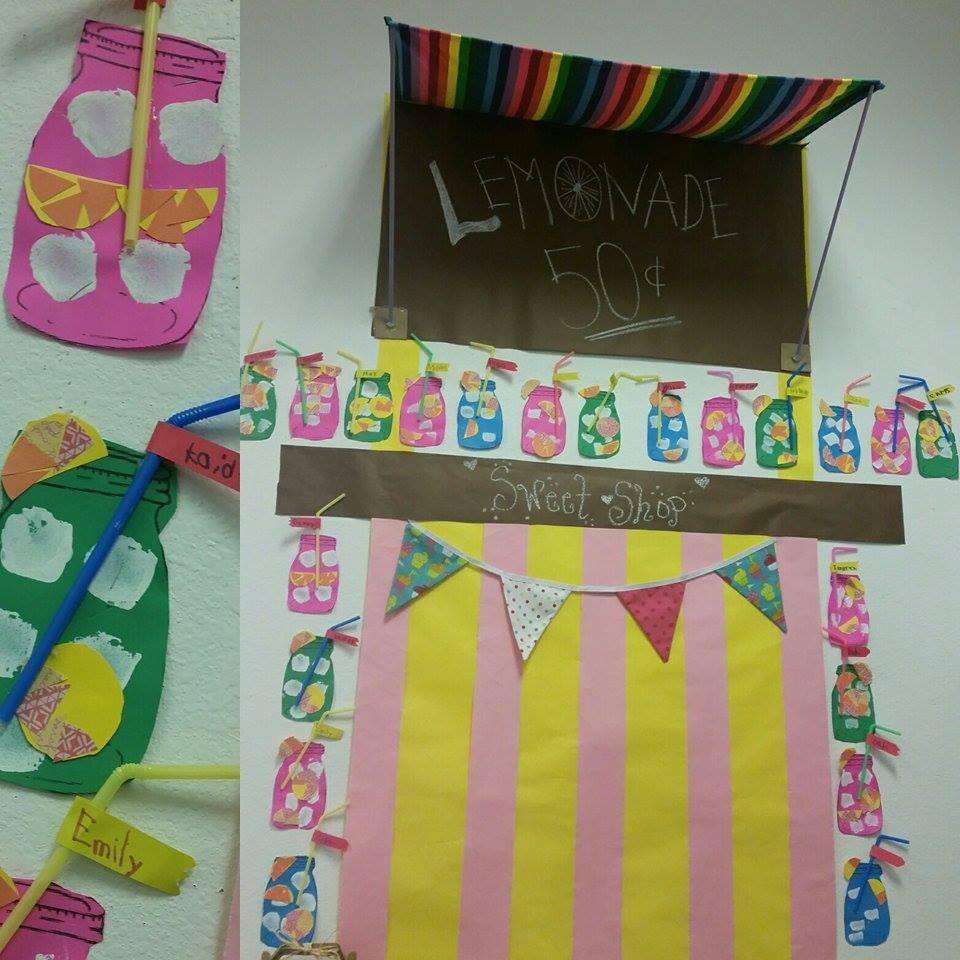 Lemonade Stand Student Lemonade Poem Display by Marisela from Teach 4 Life Deputy Wife