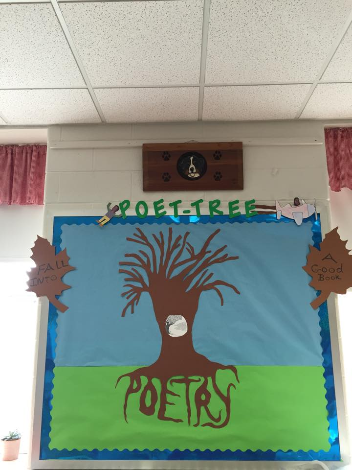 """Poet-Tree"" Poetry Bulletin Board By Marnie M."