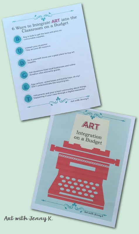 Art Integration on a Budget