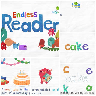 Endless Reader collage
