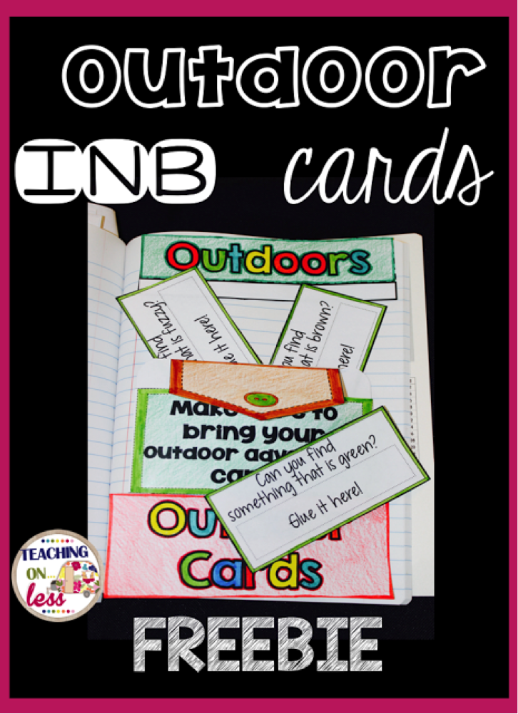 Outdoor INB Cards Freebie