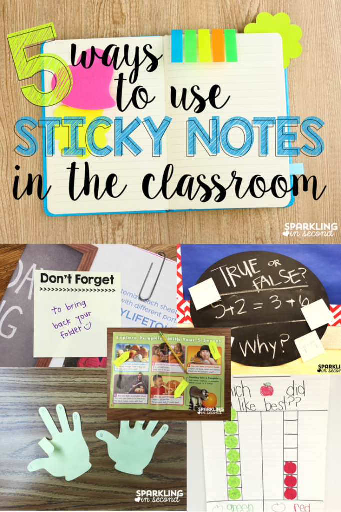 Ways to Use Sticky Notes in the Classroom