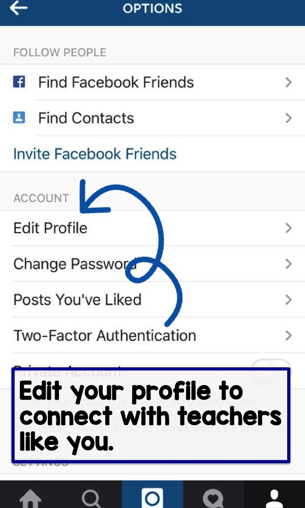 Edit your profile to connect with teachers like you.