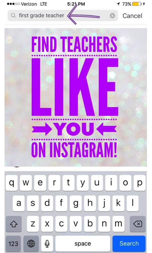 Find teachers like you on Instagram.