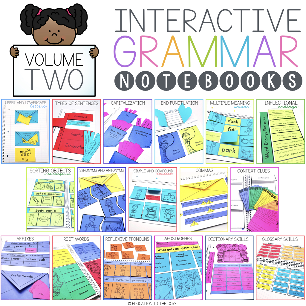 Interactive Grammar Notebooks Volume 2 : Education to the Core