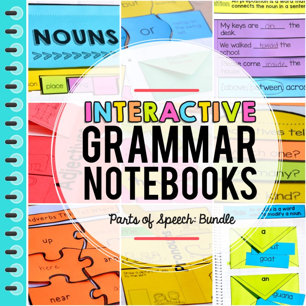 Interactive Grammar Notebook Freebie