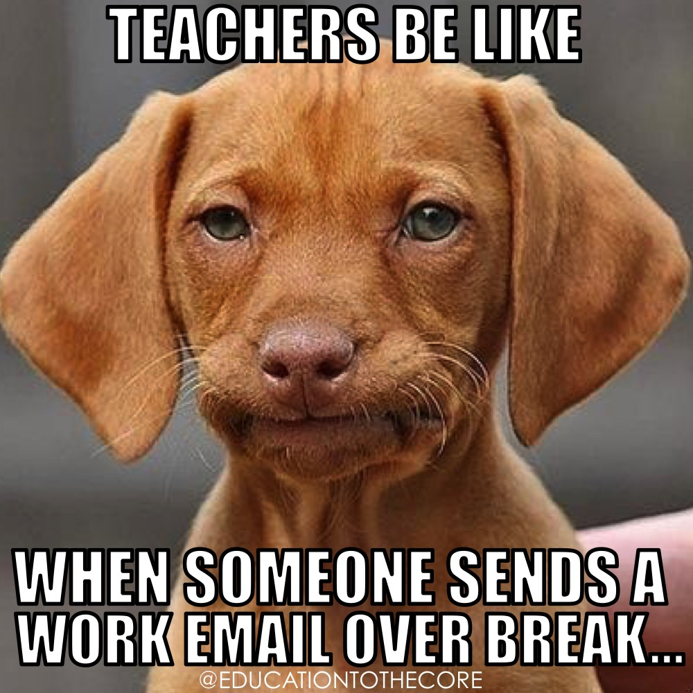 And the first email that goes out is always followed by several other ones throughout the day.