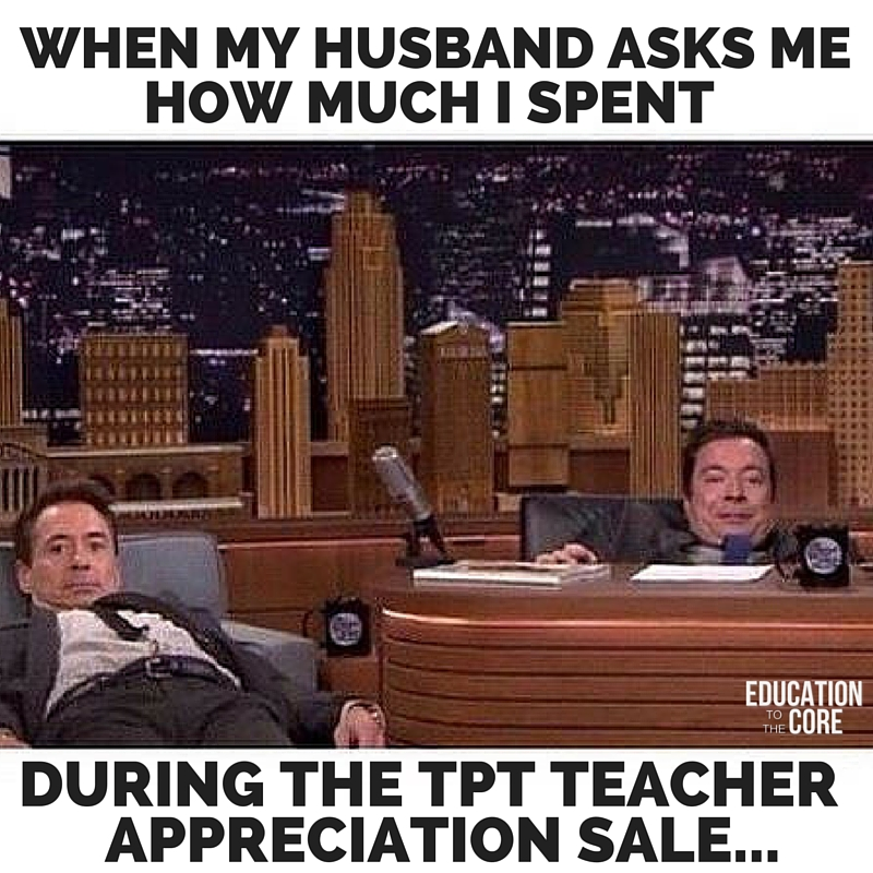 We have to divide by 3 whenever our husbands ask how much we spent.